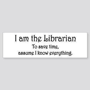[Image: I_am_the_Librarian_Sticker_Bumper_300x30...nce%22:2}]]