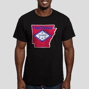 Fayetteville Men's Fitted T-Shirt (dark)