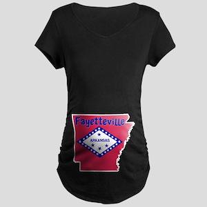 Fayetteville Maternity Dark T-Shirt