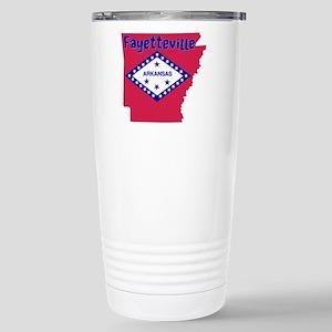 Fayetteville Stainless Steel Travel Mug