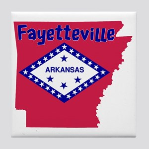 Fayetteville Tile Coaster