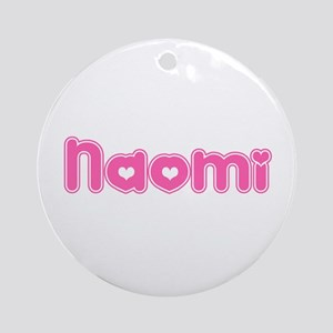 """Naomi"" Ornament (Round)"