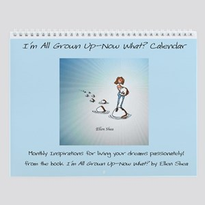 Grown Up Wall Calendar