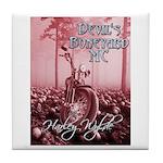 devil's boneyard mc Tile Coaster