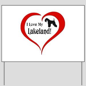 Lakeland Yard Sign