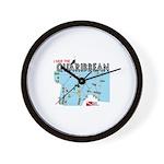 Quaribbean Wall Clock