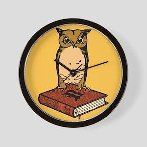 Bibliophile Seal Wall Clock