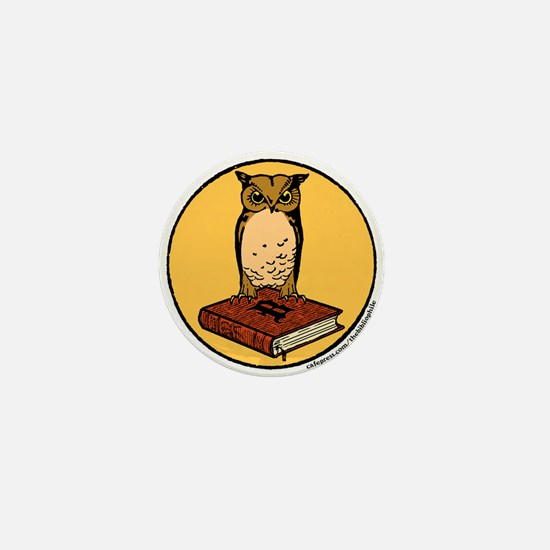 Bibliophile Seal Mini Button