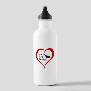 Skye Terrier Stainless Water Bottle 1.0L