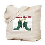 Bunny the Elf LIVE! Tote Bag
