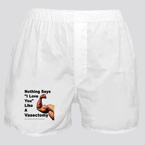 "Nothing Says ""I Love You"" Boxer Shorts"