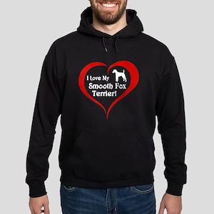 Smooth Fox Terrier Hoodie (dark)