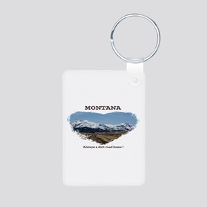 Montana Dirt Roads Keychains