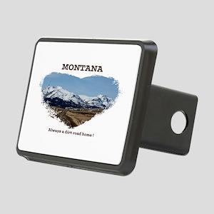Montana Dirt Roads Rectangular Hitch Cover