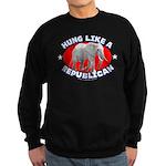 Hung like a Republican Sweatshirt (dark)