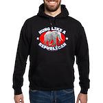 Hung like a Republican Hoodie (dark)