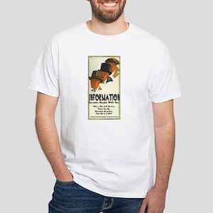 Bertieil White T-Shirt