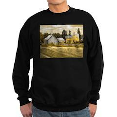 Joslin Farm 1860 sepia Sweatshirt (dark)