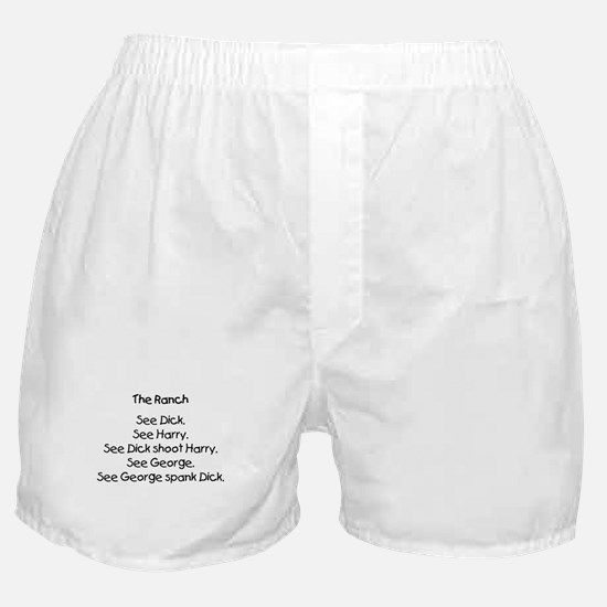'Cheney's Hunting Accident' Boxer Shorts