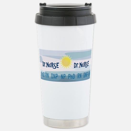 Nurse Stainless Steel Travel Mug