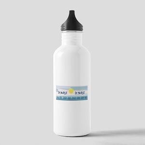 Nurse Stainless Water Bottle 1.0L