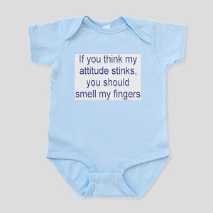 Attitude Stinks Infant Creeper