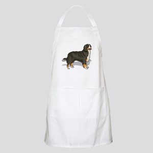 Bernese Mountain Dog Portrait BBQ Apron