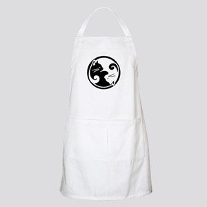 Yin Yang Cats: Chef or Artist Apron