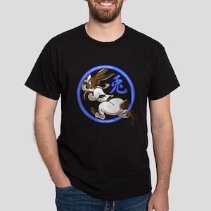 Run Rabbit Black T-Shirt