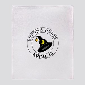 Witches Union Throw Blanket