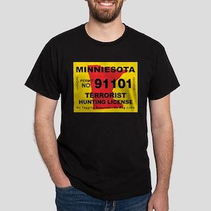 Minniesota Terrorist Hunting Dark T-Shirt
