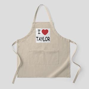 I heart taylor Apron