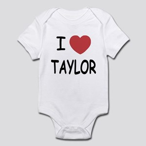 I heart taylor Infant Bodysuit