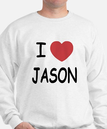 I heart jason Sweater
