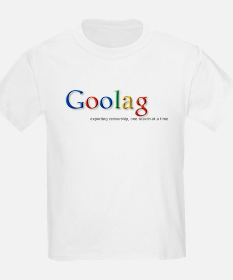 Goolag, Exporting Censorship, Kids T-Shirt
