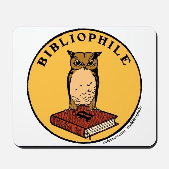 Bibliophile Seal w/ Text Mousepad