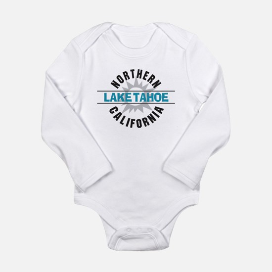 Lake Tahoe California Long Sleeve Infant Bodysuit