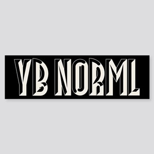 YB NORML Sticker (Bumper)