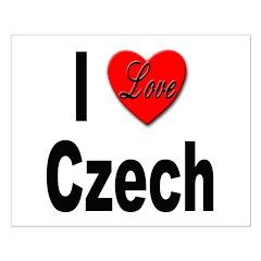I Love Czech Posters