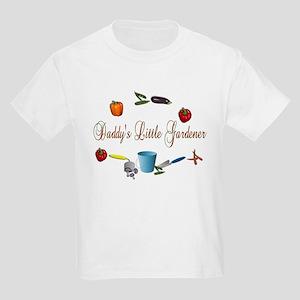 Daddy's Little Gardener Kids T-Shirt