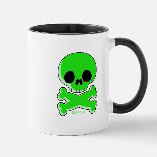 Green Skull Mug Mugs