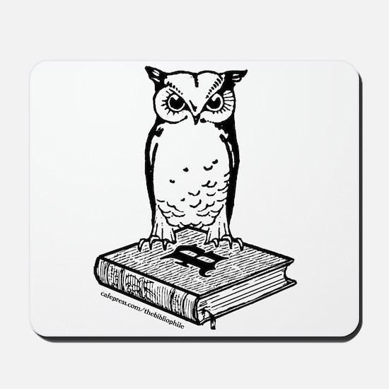 Bibliophile 2-Tone Logo Mousepad