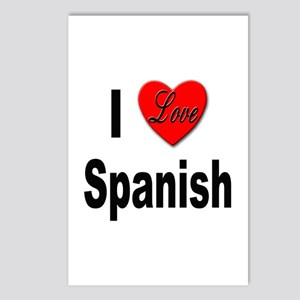 I Love Spanish Postcards (Package of 8)