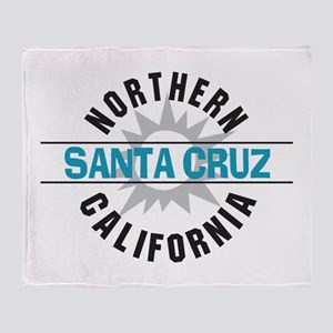 Santa Cruz California Throw Blanket