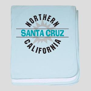 Santa Cruz California Infant Blanket