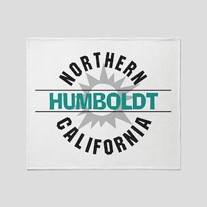 Humboldt California Throw Blanket