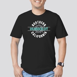Humboldt California Men's Fitted T-Shirt (dark)