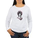 Lady Madonna Women's Long Sleeve T-Shirt