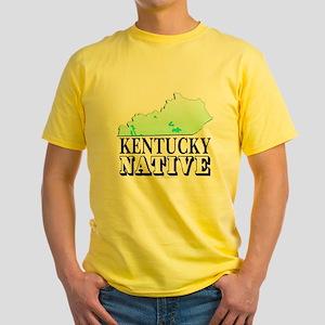 Kentucky native Yellow T-Shirt
