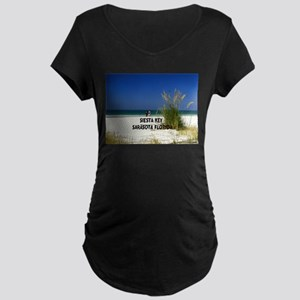 Siesta key Maternity Dark T-Shirt